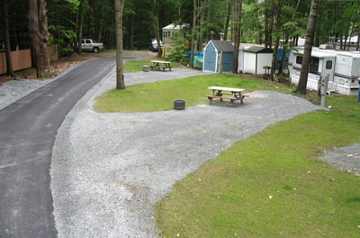 Deluxe Full Maine RV Camping Sites