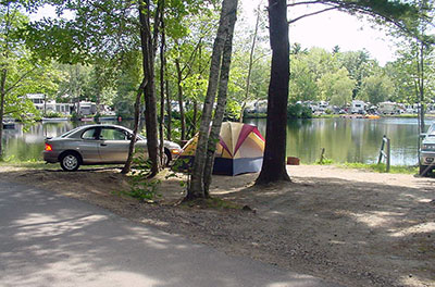 Waterfront Camping Sites Old Orchard Beach Maine