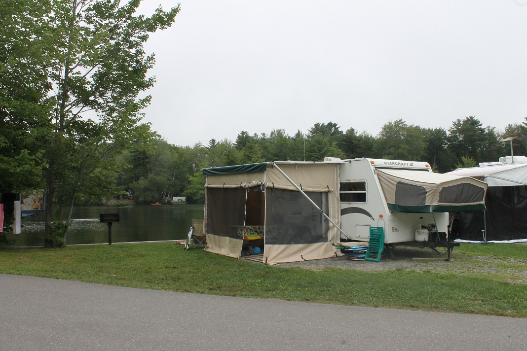 Michigan state parks with full hook up